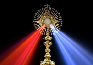 Host Monstrance Divine Mercy Eucharist