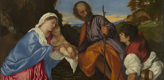 800px-Titian_-_The_Holy_Family_with_a_Shepherd_-_Google_Art_Project